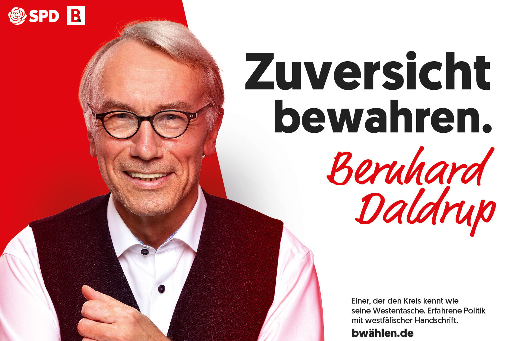 Für uns in den Bundestag!